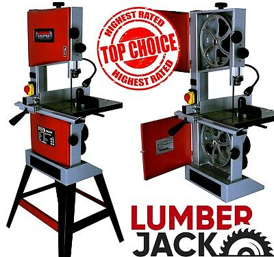 "10"" Professional Woodworking Bandsaw with Cast Table Solid Fence & Cutting Blade"
