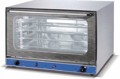 Heavy Duty Turbo Commercial Convection Oven Fanforced Single Phase 2 Elements