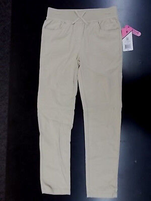 Girls Izod $30 Uniform/Casual Knit Waist Skinny Stretch Pants Size 7 - 16