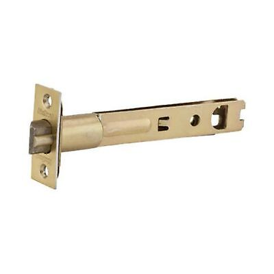 Kwikset 3014-01 3 CP Security 5-Inch Entry Door Latch Polished Brass 1