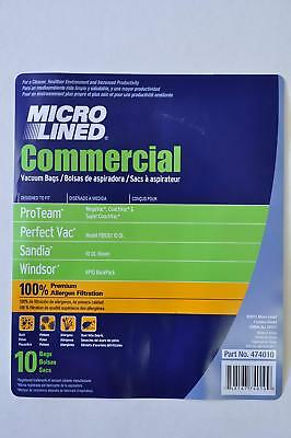 10 Quart Back Pack Vac Bags - Pack of 10