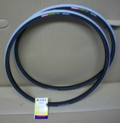 Nos Kenda Koncept Iron Cap  24 X 1 (23-540) Wheelchair Tires (Pair) Non-Marking