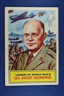 1965 A&BC (England) Battle Cards - #68 General Dwight Eisenhower - VG Condition