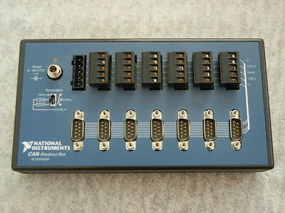 National Instruments CAN 14-Port Breakout Box, 780041-01, Excellent Condition