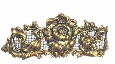 Dollhouse Miniature 1:12 Scale Fireplace Screen in Floral Design