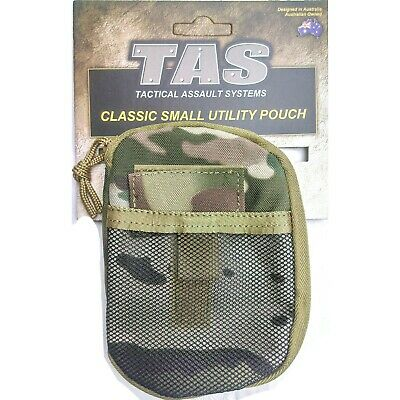 Tas Multicam 1200 Utility Pouch  Molle Flat Opening - Hd 900D Double Pu Coated