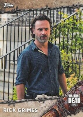 The Walking Dead On Demand 2017 - Set Of 25 Base Cards