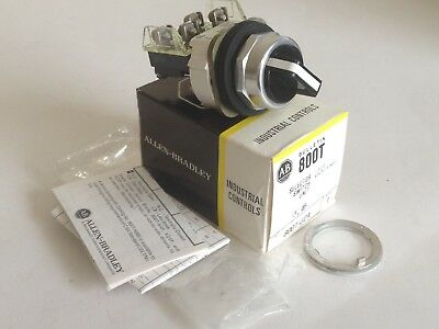 *NEW* Allen Bradley 800T-J2A Selector Switch, 3-Position, Maintained, Ser T