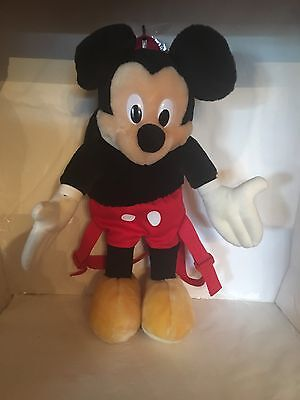 Disney Mickey Mouse Stuffed Animal Plush Backpack Experienced  seller