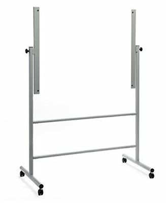 "Glass Dry-Erase Board Mobile Stand, (35 1/2"" x 47 1/4"" board size) STAND ONLY, D"