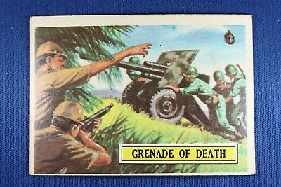 1965 Topps Battle Cards - #4 Grenade of Death - VG Condition