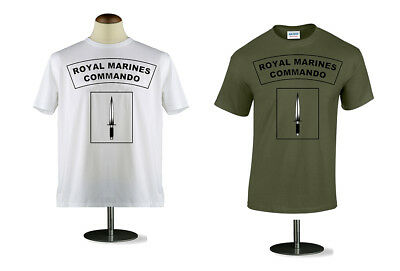 ROYAL MARINE COMMANDO T - SHIRT MENS s m l xl 2x 3xl 4xl 5xl