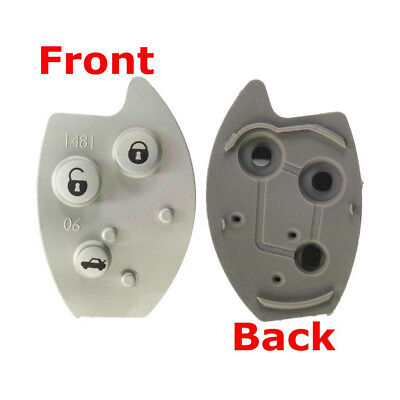 Replacement 3 Buttons Flip Remote Key Rubber Button Pad For Citroen Xsara C5 x1