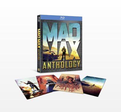 Mad Max Anthology Films 1+2+3+4 Fury Road Collection Blu-ray Boxset New