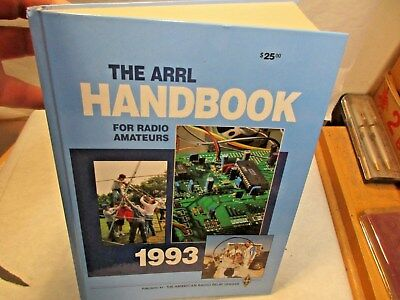 1993 The ARRL Handbook For Radio Amateurs 70th Edition Hardback Book - NR