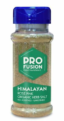 Profusion Himalayan Rose Pink Herbal Salt Organic Fine Tab