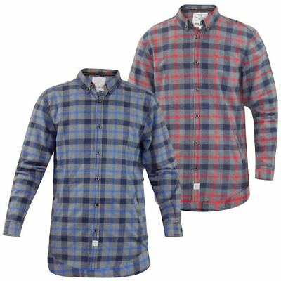 Mens  Jacksouth Flannel Lumber Jack Check Brushed Casual Cotton Work Shirt
