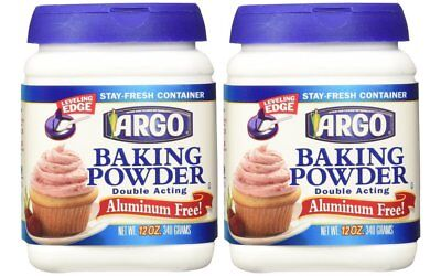 Argo Baking Powder - 12 oz, Pack of 2