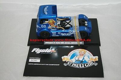 Fly Slot 1/32 202311B Mercedes Benz Truck St Pauli Girl Special Edition Nr. 88