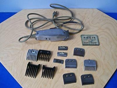 Vintage Improved Andis Master Clipper  Model Ml  Plus Extras Pat. 5-31-32