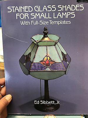 Stained Glass Shades for Small Lamps Pattern Book