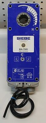 Duradrive Siebe Ma-7501  Two Position Actuator 120Vac