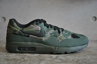 NIKE AIR MAX 1 Ultra Moire Camo Print Carbon GreenBlack