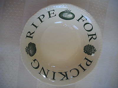 Wood & Sons Ripe For Picking Fine Tableware Soup Cereal Bowl Made in England