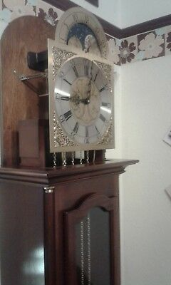 Longcase clock made by  comitti london.....