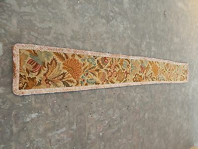 Large Vintage French Beautiful Needle Point Tapestry 298x38cm (A1033)