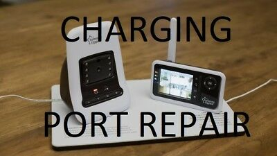 tommee tippee closer to nature video monitor - CHARGING PORT  Repair Service