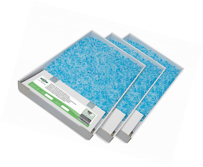 Scoop Free Disposable Cat Litter Tray  Replacement Crystal Litter Tray Pack x 3