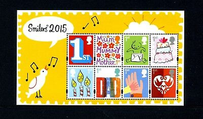 GREAT BRITAIN   MNH   3354   Smilers 2015 S/S 1/20/15   CN490