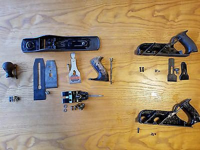 Lot Of 3 VINTAGE STANLEY BAILEY PLANE # 5, 78, Very Clean. USA