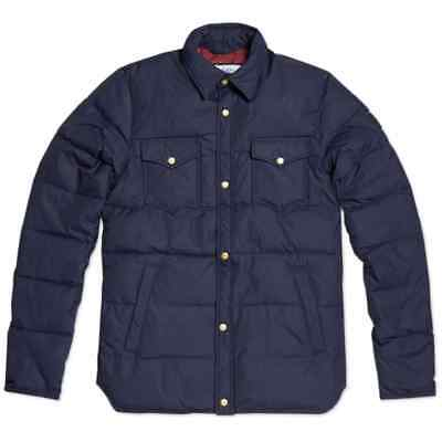 Penfield Mens Rockford Down Jacket Navy Size S Small Authentic New