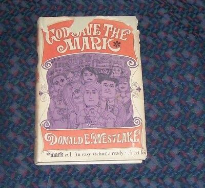 God Save The Mark by Donald Westlake 1967 hardcover  book club edition
