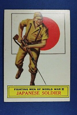 1965 Topps Battle Cards - #58 Japanese Soldier - VG/Ex Condition