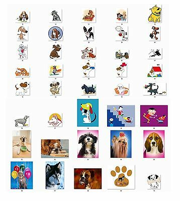 Personalized Return Address labels Cute Dogs Buy 3 get 1 free {d2}