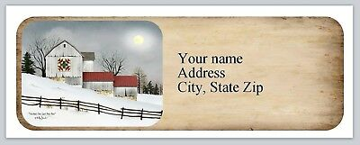 Personalized Address labels Primitive Country Buy 3 get 1 free (ac 979)