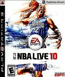 NBA Live 10 (Sony PlayStation 3)