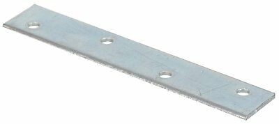 The Hillman Group 851676 2 x 1/2-Inch Mending Plate, Zinc Plated