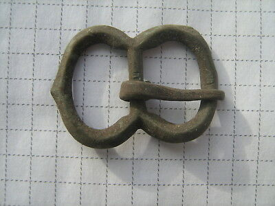 Ancient bronze buckle