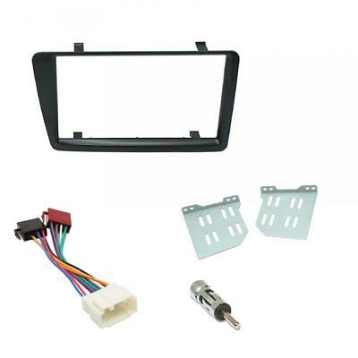 Honda Civic Car CD Stereo Radio Double DIN Black Facia Fascia Fitting Kit Panel