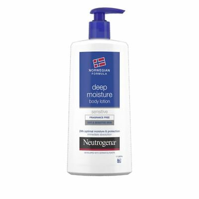 Neutrogena Norwegian Formula Deep Moisture Body Lotion Dry And Sensitive Skin