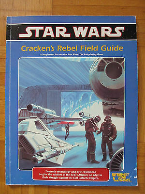Star Wars – CRACKEN´S REBEL FIELD – 40046 Roleplaying Game Supplement Guide RPG