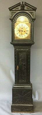 18Th Century William Sellwood Carmarthen Fecit 8 Day Longcase Clock