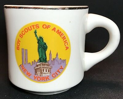 Vintage Boy Scout Cup New York City