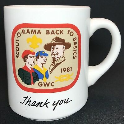 Vintage Boy Scout Cup Scout o Rama Back To Basics