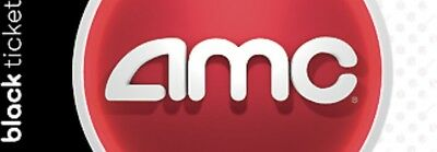 Four (4x) AMC Black Movie E-Tickets. NO EXPIRATION Quick delivery to your email