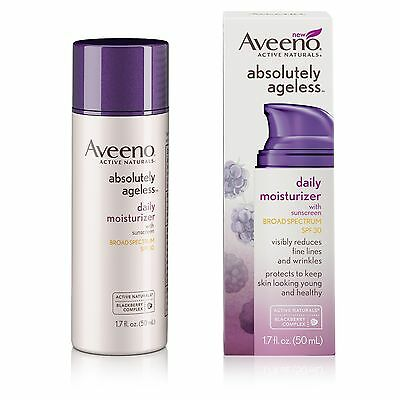 Aveeno Absolutely Ageless Daily Moisturizer SPF 30 1.7 oz.